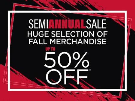 Semi Annual Sale from Marmi