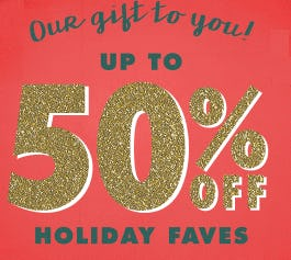 Up to 50% Off Holiday Faves from Justice