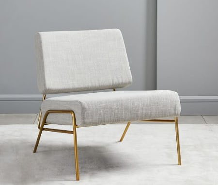 The Wire Frame Slipper Chair from West Elm