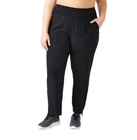 Activezone Plus Ruched Cuff Pants from Lord & Taylor