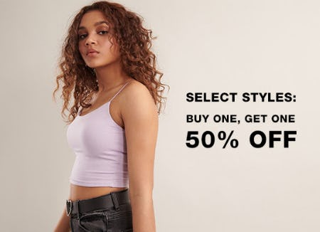 BOGO 50% Off Select Styles from Garage