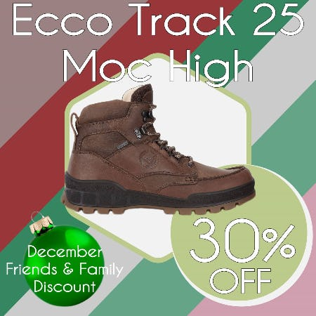 30% Off Ecco Track 25 Moccasin Toe Boot from Tradehome Shoes