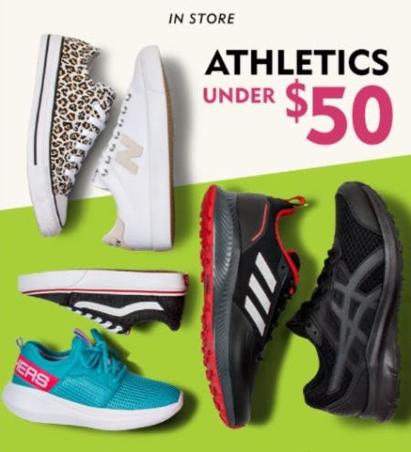 Athletics Under $50 from Shoe Carnival