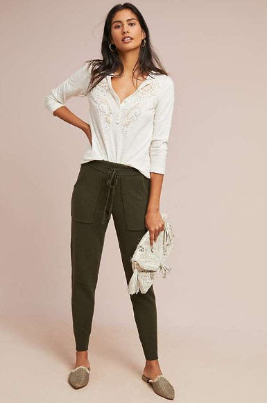 Emily Sweater Joggers from Anthropologie