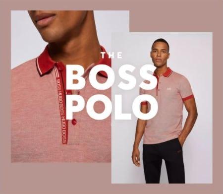 The BOSS Polo from Hugo Boss