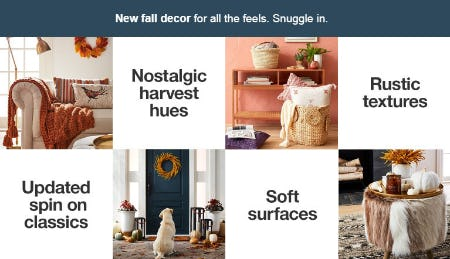 New Fall Decor from Target