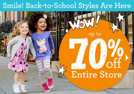 Up to 70% Off Everything