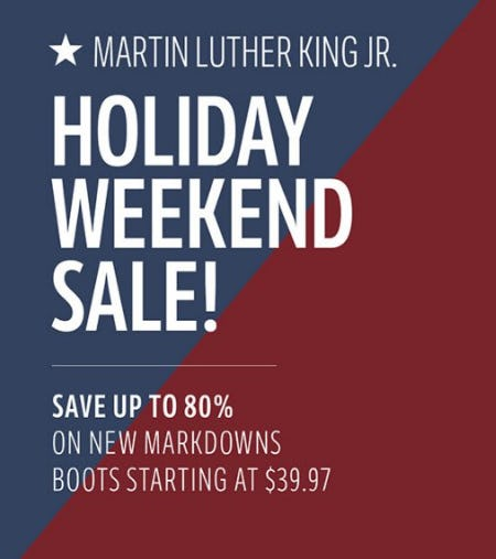 Save up to 80% on New Markdowns