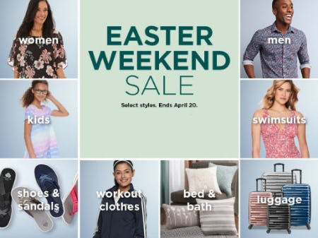 Easter Weekend Sale from Kohl's