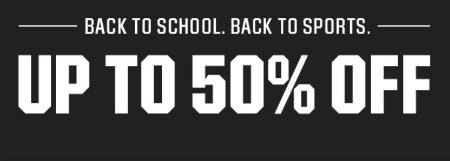 Up to 50% Off Back-to-School Deals from Dick's Sporting Goods
