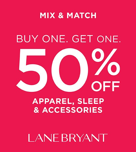 The Winter Warm-Up Sale from Lane Bryant