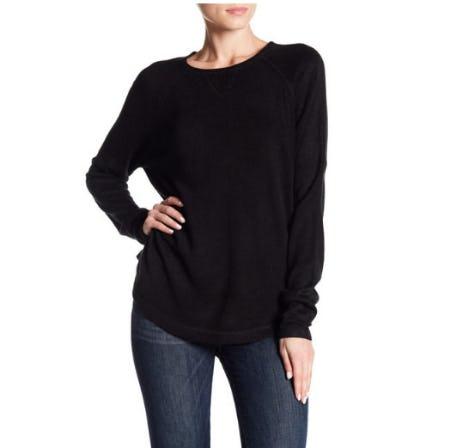 Sweet Romeo Solid Raglan Sweater from Nordstrom Rack