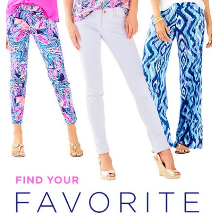 Shop Our Great Pants