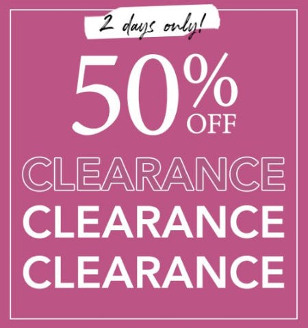 50% Off Clearance from Lane Bryant
