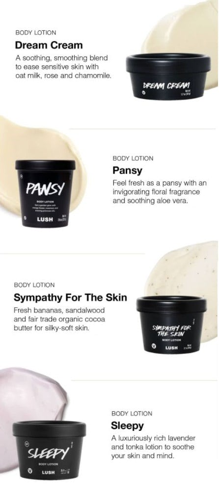 Smooth, Soothe and Glow Lotion from LUSH