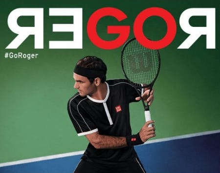 New Federer-Approved Tennis Gear