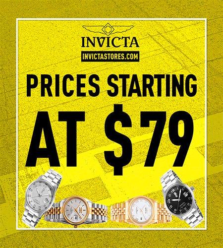 68156cc79b Friends and Family Sale at Invicta
