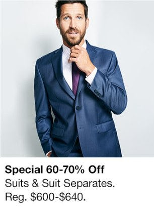60-70% Off Suits & Suit Separates from macy's