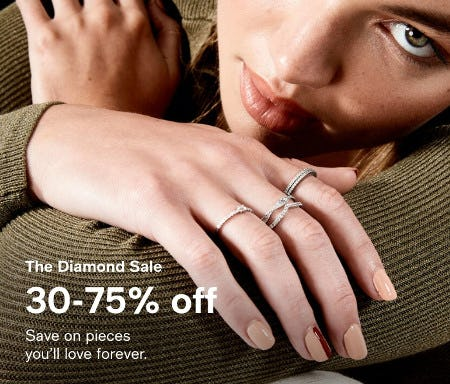 The Diamond Sale: 30-75% Off from macy's