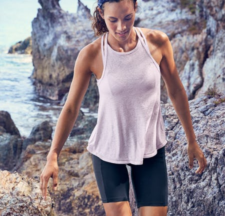 The Breezy High-Neck Tank from Athleta