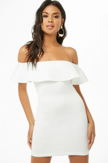 Off-The-Shoulder Flounce Dress from Forever 21