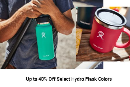 Up to 40% Off Select Hydro Flask Colors from Dick's Sporting Goods