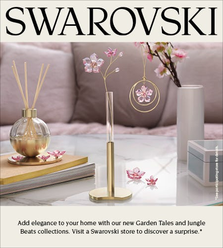 Garden Tales & Jungle Beats Collections Event from Swarovski