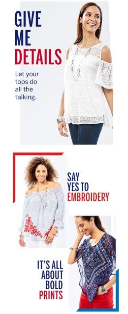 Shop New Tops from Dress Barn, Misses And Woman