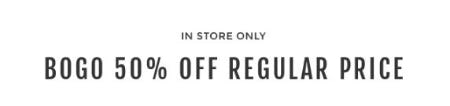BOGO 50% Off Regular Priced Merchandise from Torrid