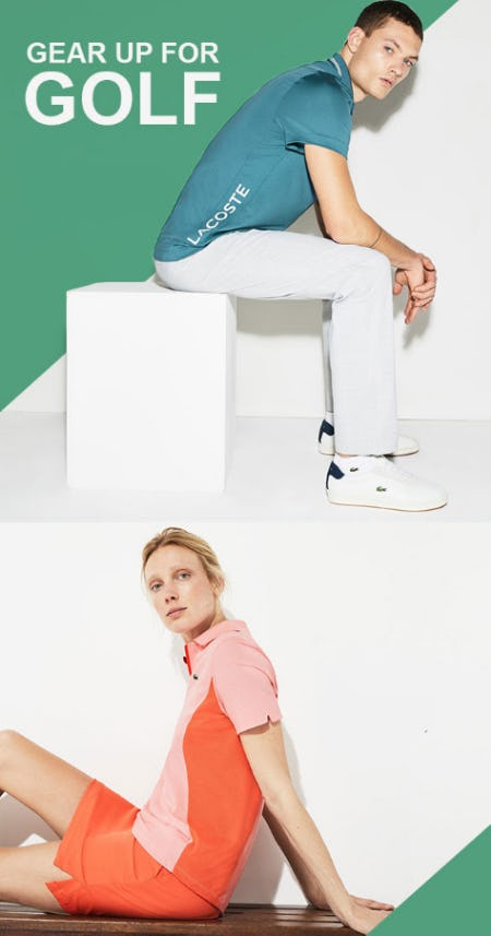 The Golf Collection from Lacoste