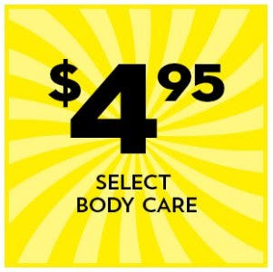 $4.95 Select Body Care from Bath & Body Works/White Barn
