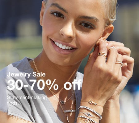 Jewelry Sale: 30-70% Off from macy's