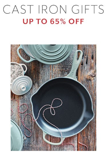Up to 65% Off Cast Iron Gifts from Sur La Table