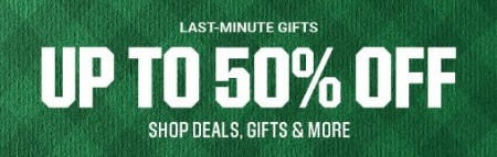 Up to 50% Off Last-Minute Gifts