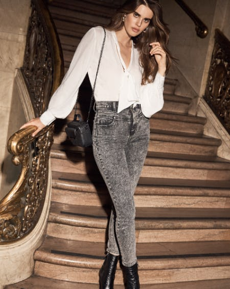 The Retro Corset Jean from 7 for All Mankind
