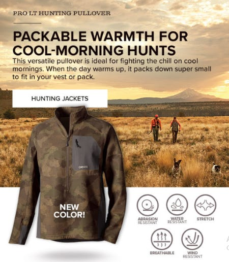 Pro LT Hunting Pullover from Orvis