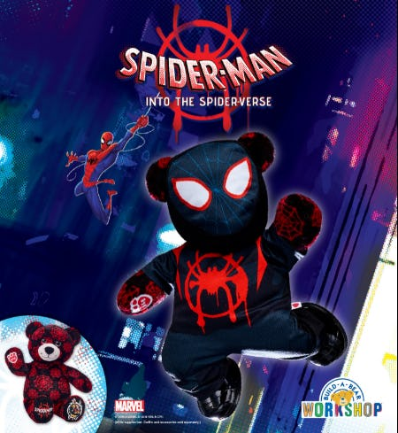 Save the City with Miles Morales: Spider-Man! from Build-A-Bear Workshop