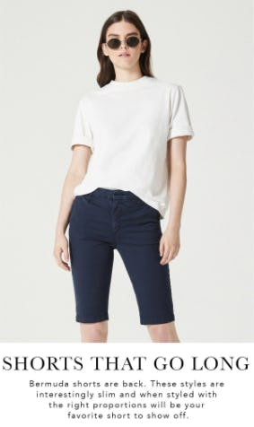 Bermuda Shorts from Ag Jeans