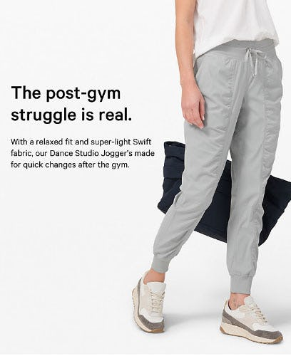 The Post-Gym Struggle is Real from lululemon