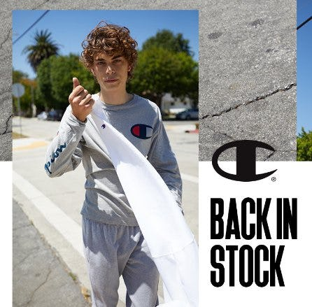 Back in Stock from PacSun