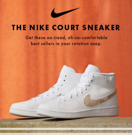 The Nike Court Sneaker from DSW Shoes