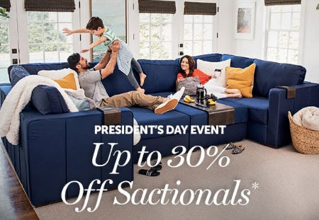 Up to 30% Off Sactionals from Lovesac Alternative Furniture