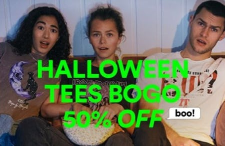BOGO 50% Off Halloween Tees from Cotton On