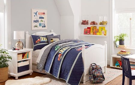 Our Favorite Bed and Bedding Combos from Pottery Barn Kids