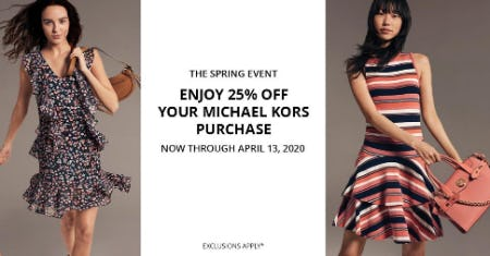 The Spring Event from Dillard's