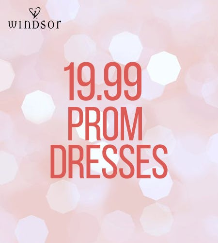 Sale On Prom Dresses! from Windsor