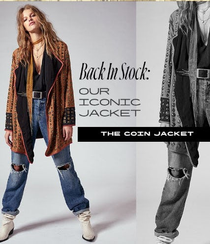 Back In Stock: Our Iconic Jacket