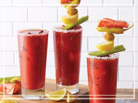 $5 Bloody Marys and Mimosas