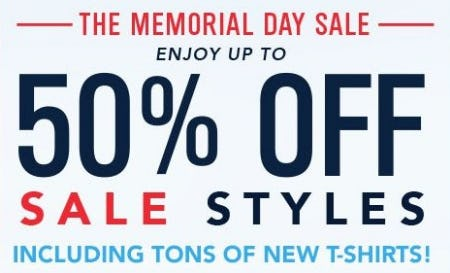 The Memorial Day Sale: Up to 50% Off from vineyard vines