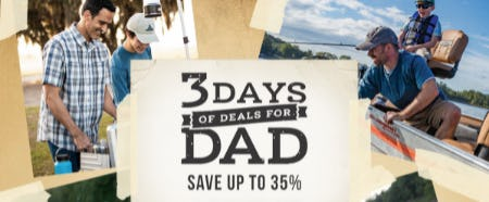 Save Up to 35% Off on 3 Days of Deals for Dad from Cabela's